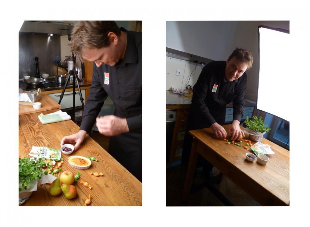 Rezepte Erstellung für Bonbonmeister Kaiser, Foodbild Produktion Blick hinter die Kulissen mit Food Fotograf Thomas Sixt