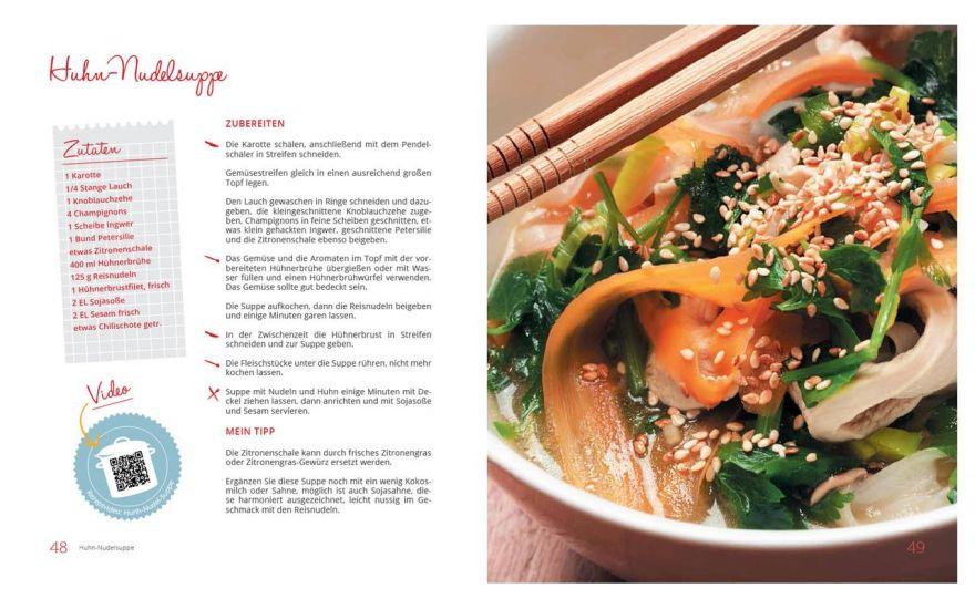 Buchentwicklung für Markenprodukte aus einer Hand. Layout und Foodfotografie die ansprechend wirkt.