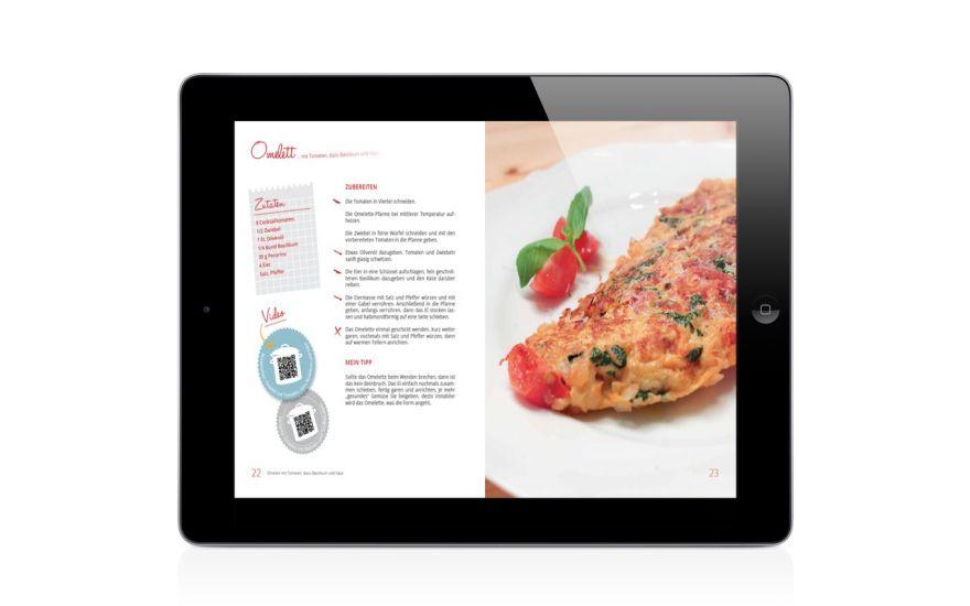 Moderne Mediennutzung, wir entwickeln traditionelle Print Bücher und dazu die passende App für Apple und Android.