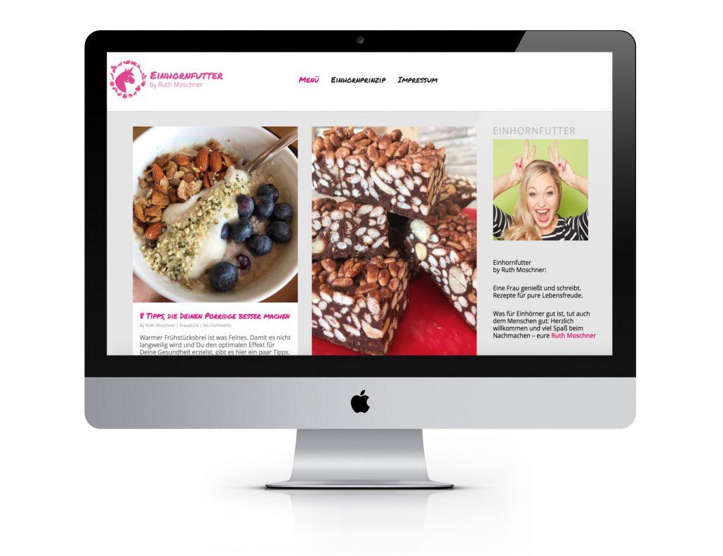 Rezepteblog und Foodblog Programmierung vom Experten. Online Marketing für mehr gutes Essen.