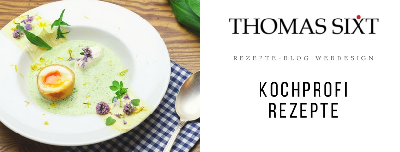 Referenz t6t.at Webagentur online Marketing Webdesign für Kochblog und Rezepte Blog vom Kochprofi Thomas Sixt