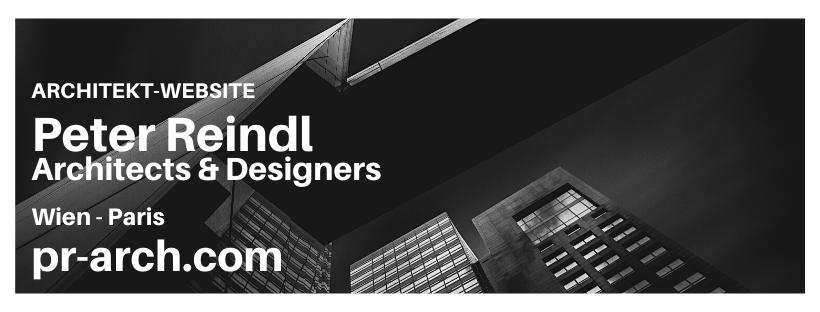 Banner Architektur Website Erstellung